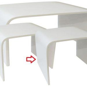 Tavolo Color Bianco Linea Glossy Piccolo