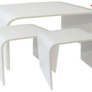 Tavolo Color Bianco Linea Glossy Grande