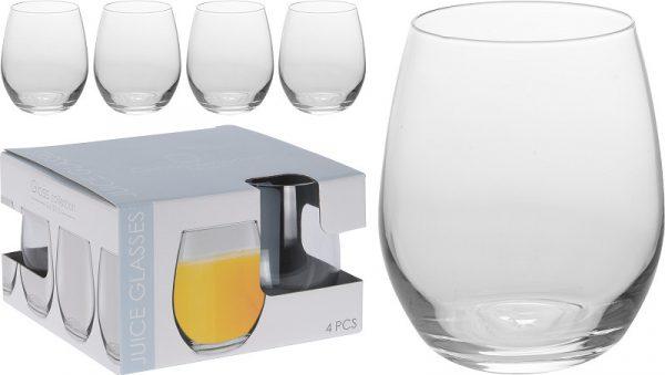 Set 4 Bicchieri Per Vino In Vetro 39cl