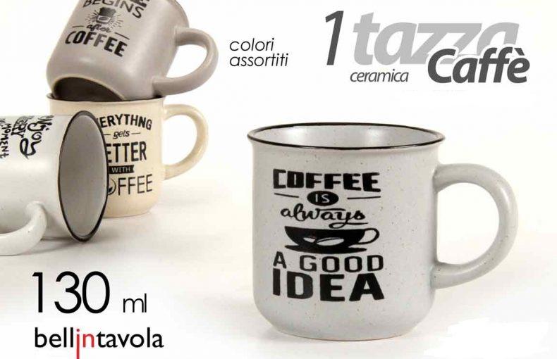 Tazzina Per Caffè In Ceramica 130ml