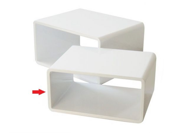 Tavolo Gloss Bianco Piccolo