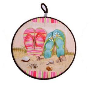 Mattonella Rotonda Decorativa Linea Summer