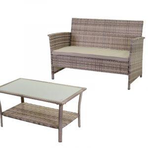 Combinazione Salotto Detroit Divano E Tavolino