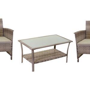 Combinazione Salotto Detroit Poltrone E Tavolino