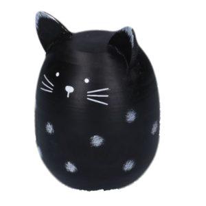 Gatto Rotondo In Legno Linea Miao