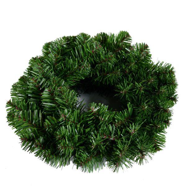 Decorazione Natalizia Coroncina Verde Con 70 Rami