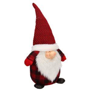 Fermaporta Rosso Babbo Natale In Tessuto