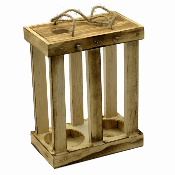 Scatola Cassetta In legno Per Vino Modello Rustico