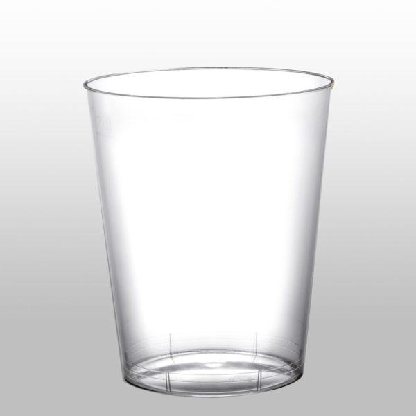 Set 18 Bicchieri Linea USA & RIUSA 230cc Turchese Trasparente