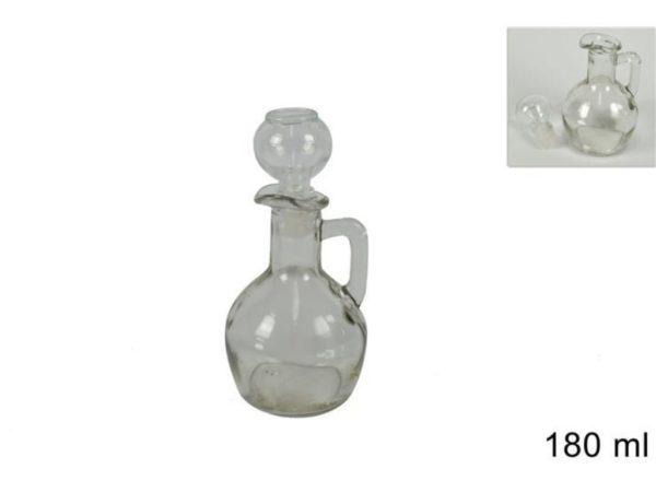 Set 2 Bottiglie In Vetro Per Olio E Aceto