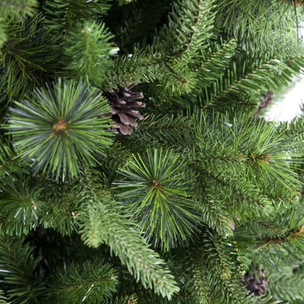 Albero Natale Con Pigne Modello Sinai Altezza 150 cm