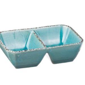 Set 6 Antipastiere In Ceramica 2 Vaschette Linea Susy
