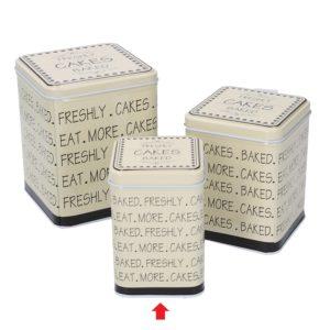 Scatola Quadra In Metallo Linea Cakes Piccola