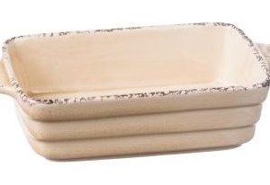 Set 6 Pirofile Rettangolari In Ceramica Linea Susy