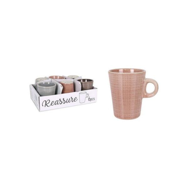 Set 6 Tazzine Da Caffè In Ceramica Reassure