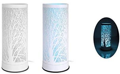 Lampada Linea Aroma In Metallo Touch Colore Bianco