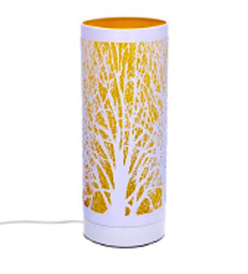 Lampada Linea Aroma In Metallo Touch Colore Giallo