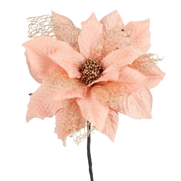 Fiore Stella Di Natale Rosa Chiaro