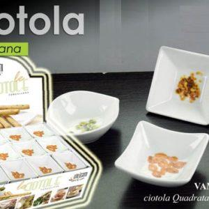 Set 6 Ciotoline In Porcellana Finger Food